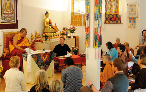 Workshop with Khensur Jampa Tegchok